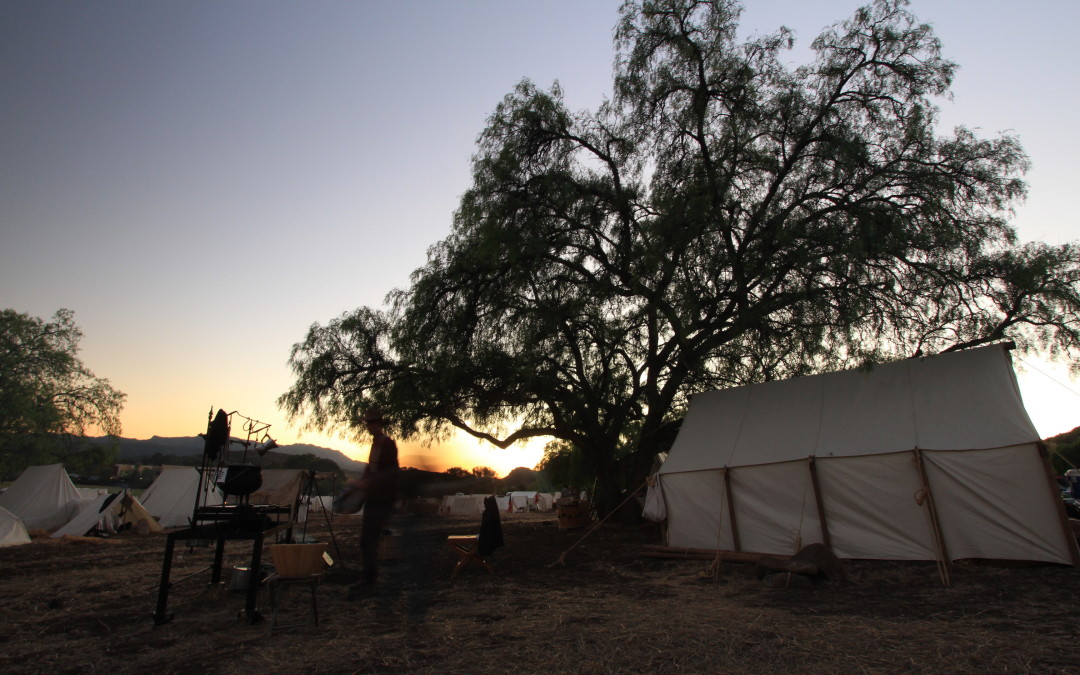 Moorpark Civil War Reenactment