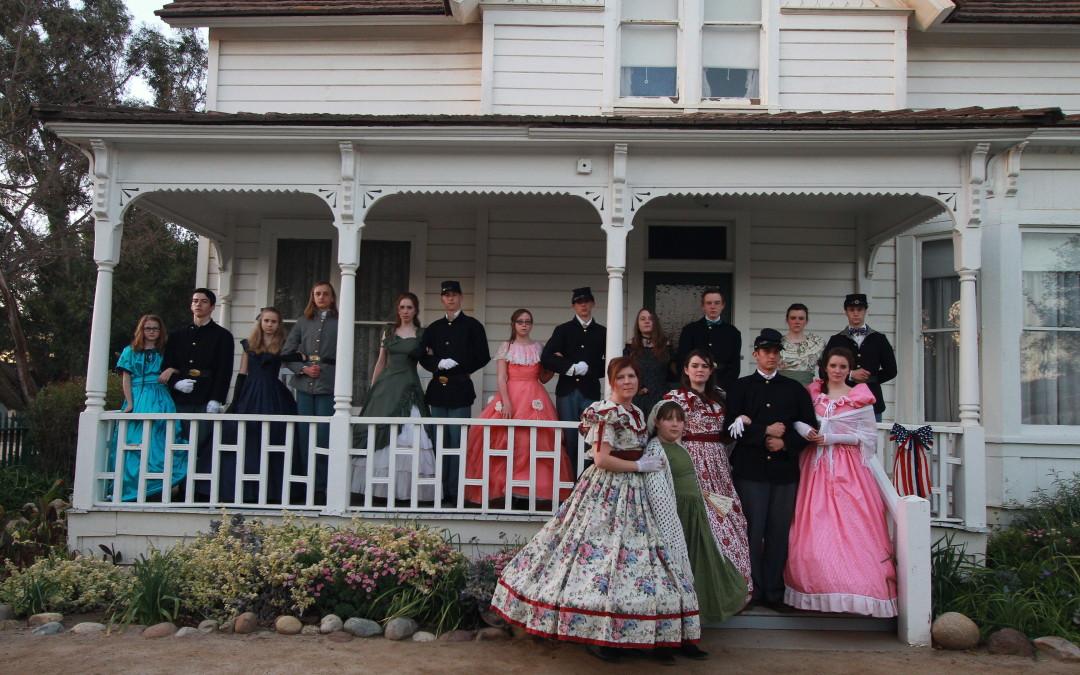 Strathearn House Civil War Encampment